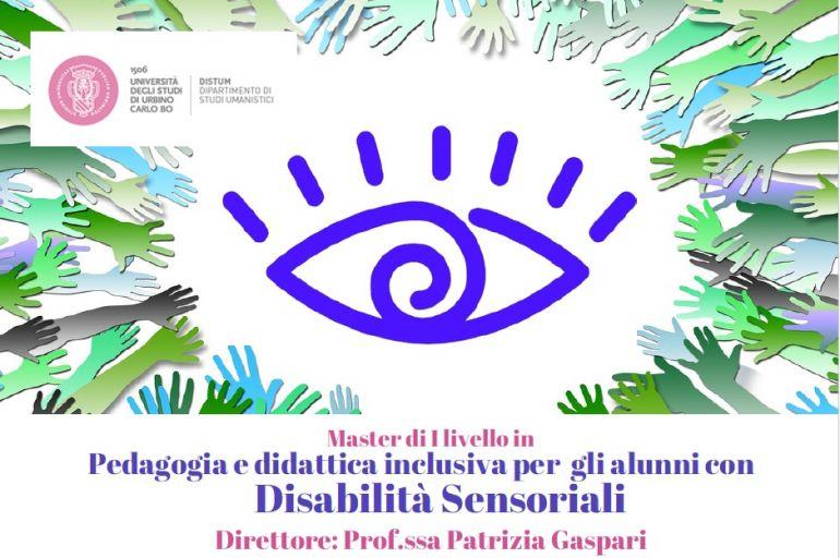 Master di I livello in Pedagogia e didattica inclusiva per gli alunni con Disabilità Sensoriali