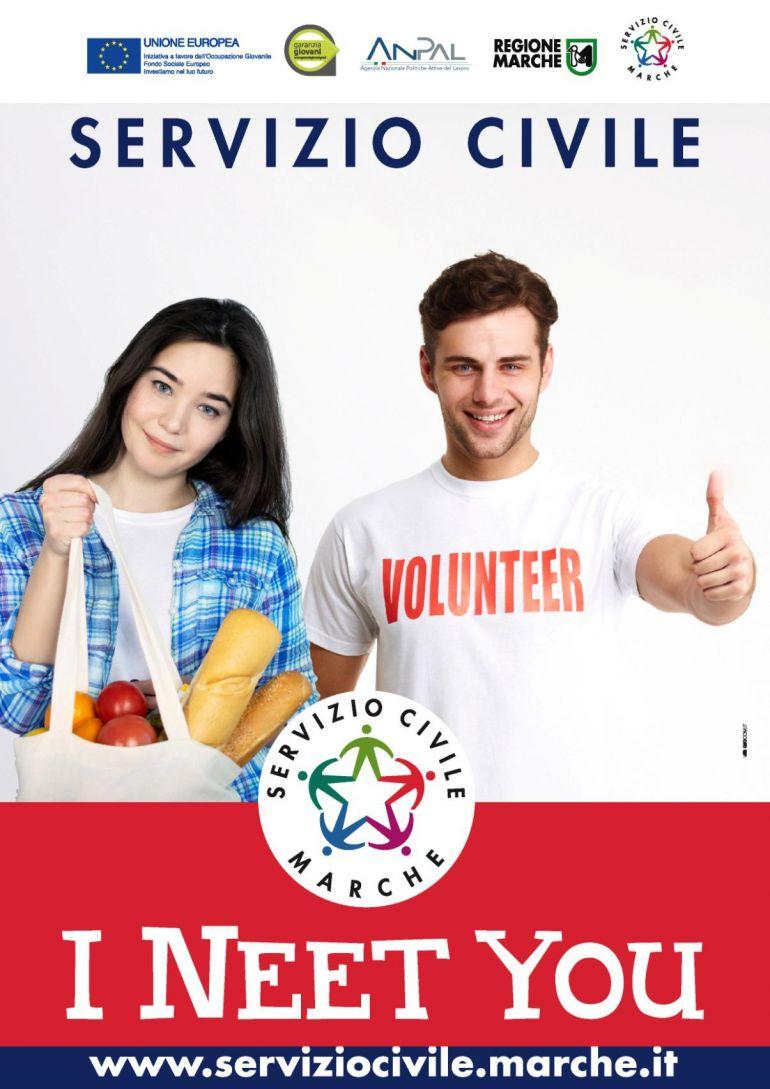 Bando Servizio Civile Regionale Marche Scadenza 21/09/2020 ore 13:00