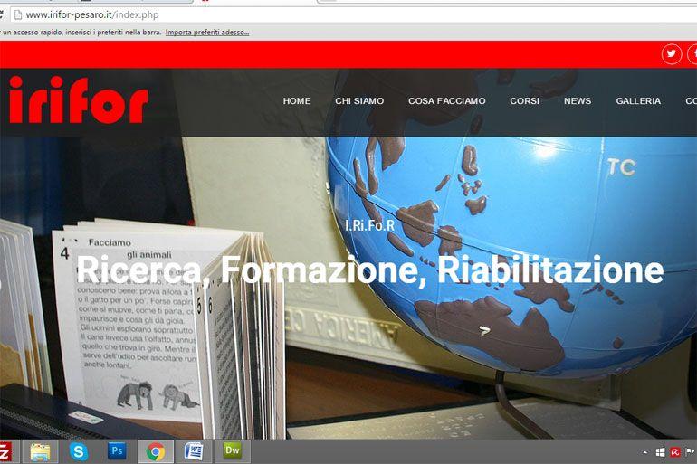 Online nuovo sito I.Ri.Fo.R Pesaro