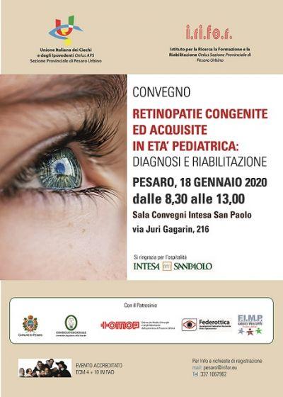 CONVEGNO ECM PESARO 18.01.2020